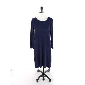 Anthropologie Moth Split Back Hem Sweater Dress
